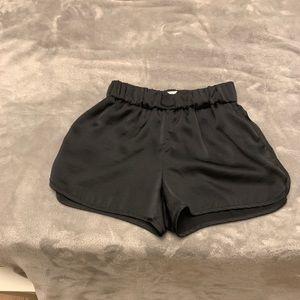 Aritzia Satin Shorts